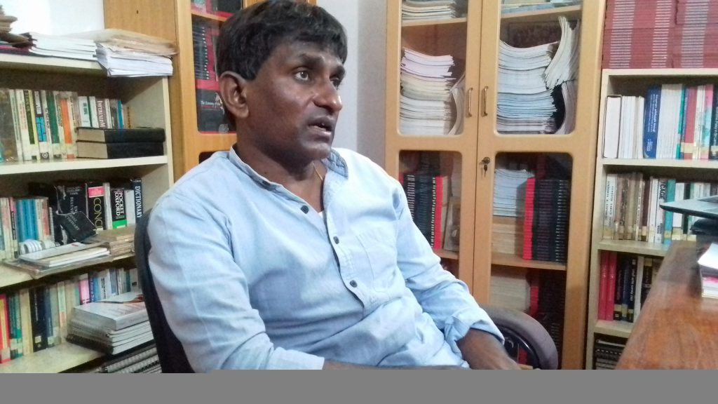 கலாநிதி முத்துக்கிருஸ்ணா சர்வானந்தன்.